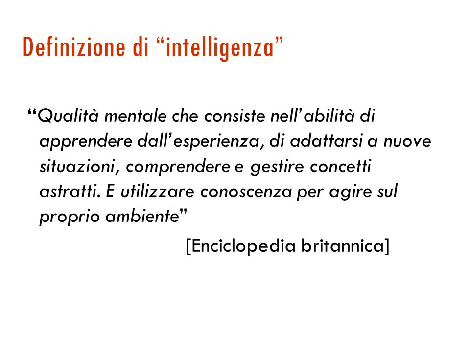 Open mind (http://www.openmind.org/)  Progetto più recente e meno ambizioso, che accetta contributi via Web  ha raccolto in un anno 500.000 fatti di senso comune sotto forma di testo (cf 3 mil in Cyc)  Esempi:  A piece of food usually costs less than a piece of gold.