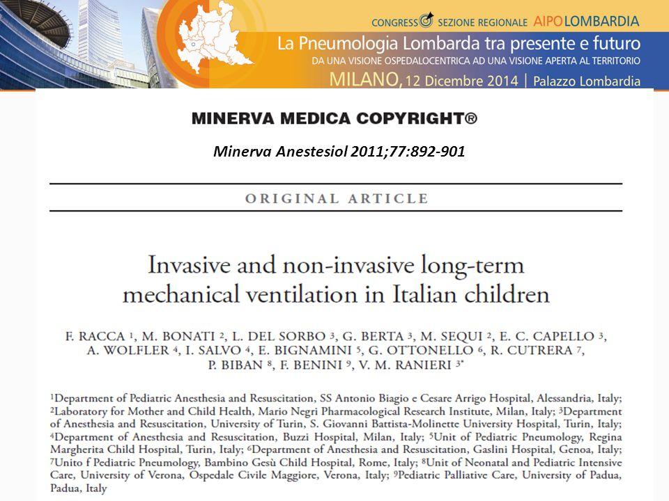 Minerva Anestesiol 2011;77:892-901