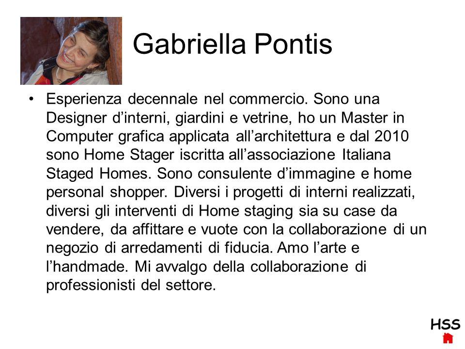Gabriella Pontis Esperienza decennale nel commercio.