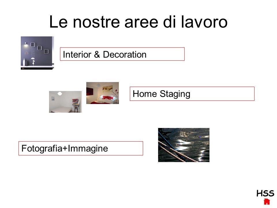 Le nostre aree di lavoro Interior & Decoration Fotografia+Immagine Home Staging