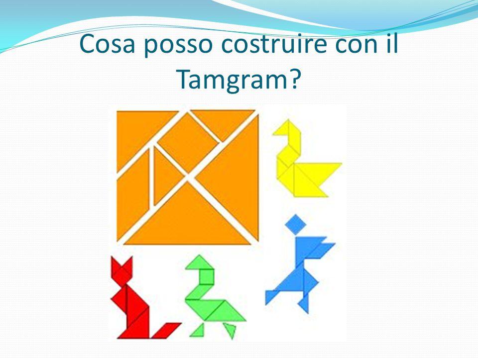 Cosa posso costruire con il Tamgram?