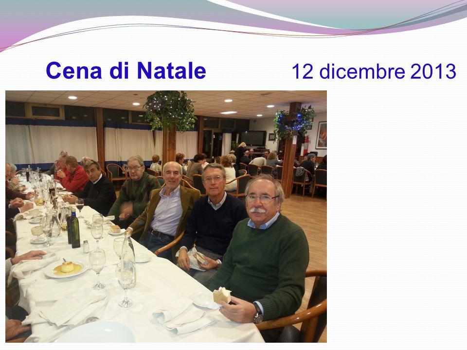 Cena di Natale 12 dicembre 2013