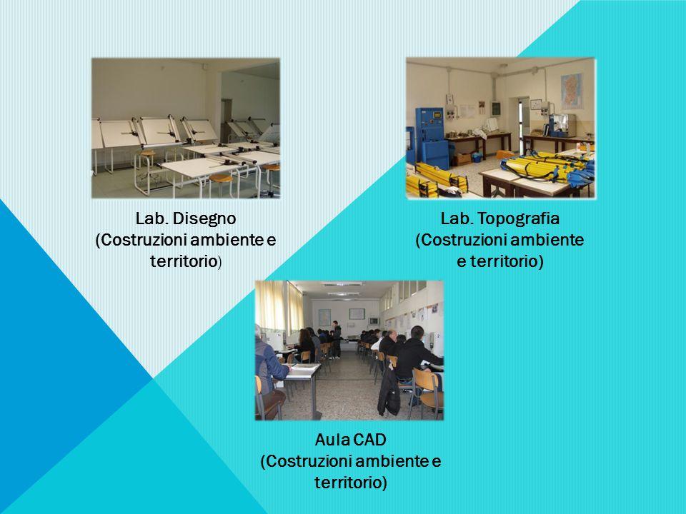 Lab. Disegno (Costruzioni ambiente e territorio ) Lab.