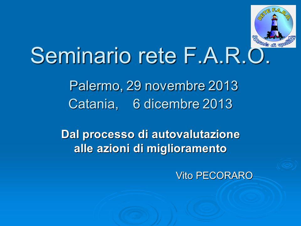 Seminario rete F.A.R.O.