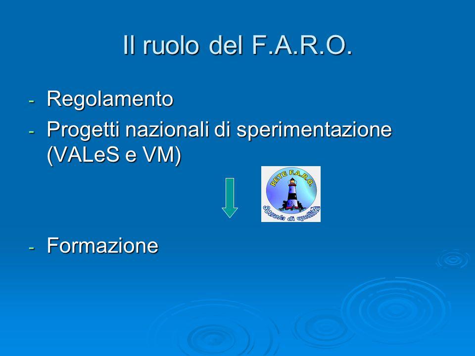Il ruolo del F.A.R.O.