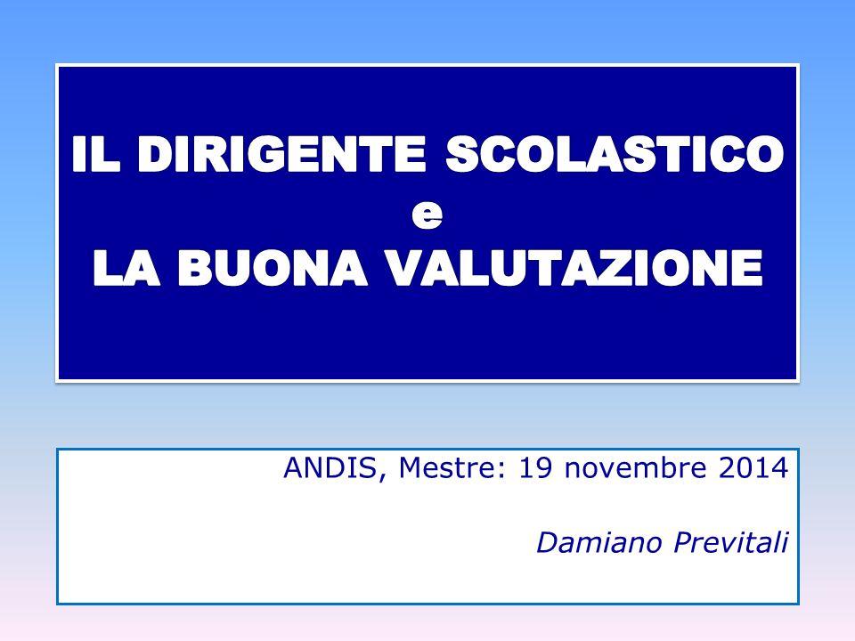 ANDIS, Mestre: 19 novembre 2014 Damiano Previtali
