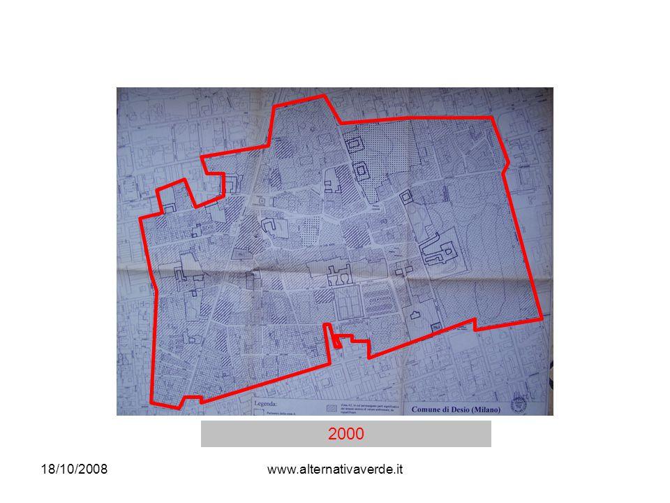 18/10/2008www.alternativaverde.it FUORI dal nucleo di antica formazione: Palazzo Aliprandi