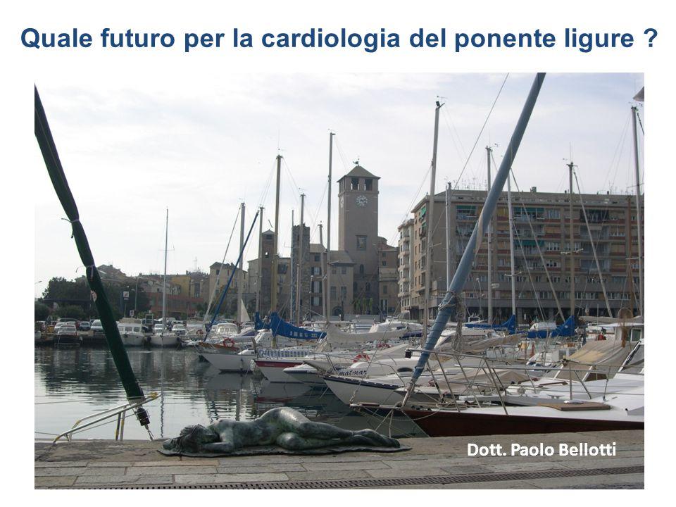 Quale futuro per la cardiologia del ponente ligure ? Dott. Paolo Bellotti