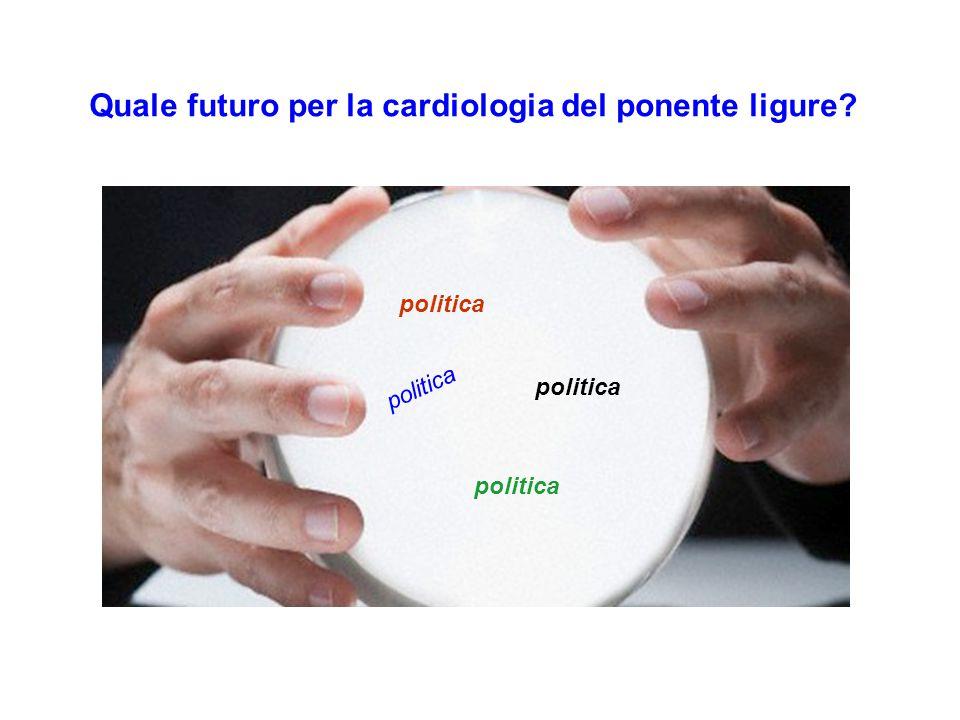 Quale futuro per la cardiologia del ponente ligure? politica