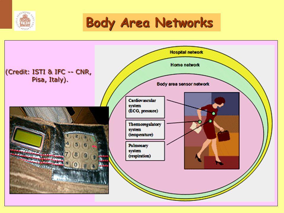 17 Body Area Networks (Credit: ISTI & IFC -- CNR, Pisa, Italy). Pisa, Italy).