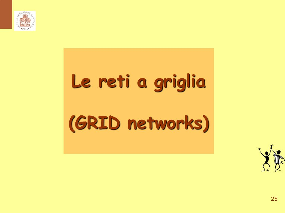25 Le reti a griglia (GRID networks)