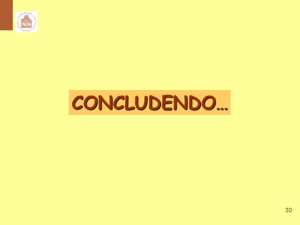 30 CONCLUDENDO…