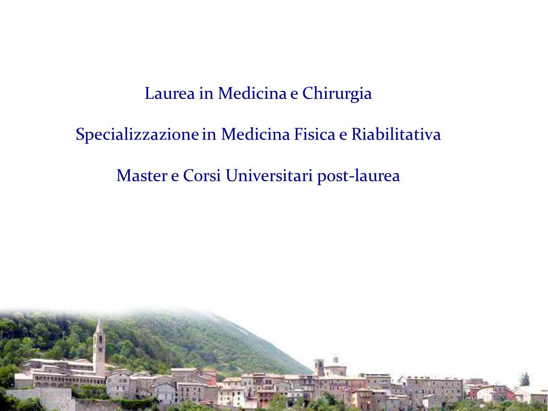 Laurea in Medicina e Chirurgia Specializzazione in Medicina Fisica e Riabilitativa Master e Corsi Universitari post-laurea