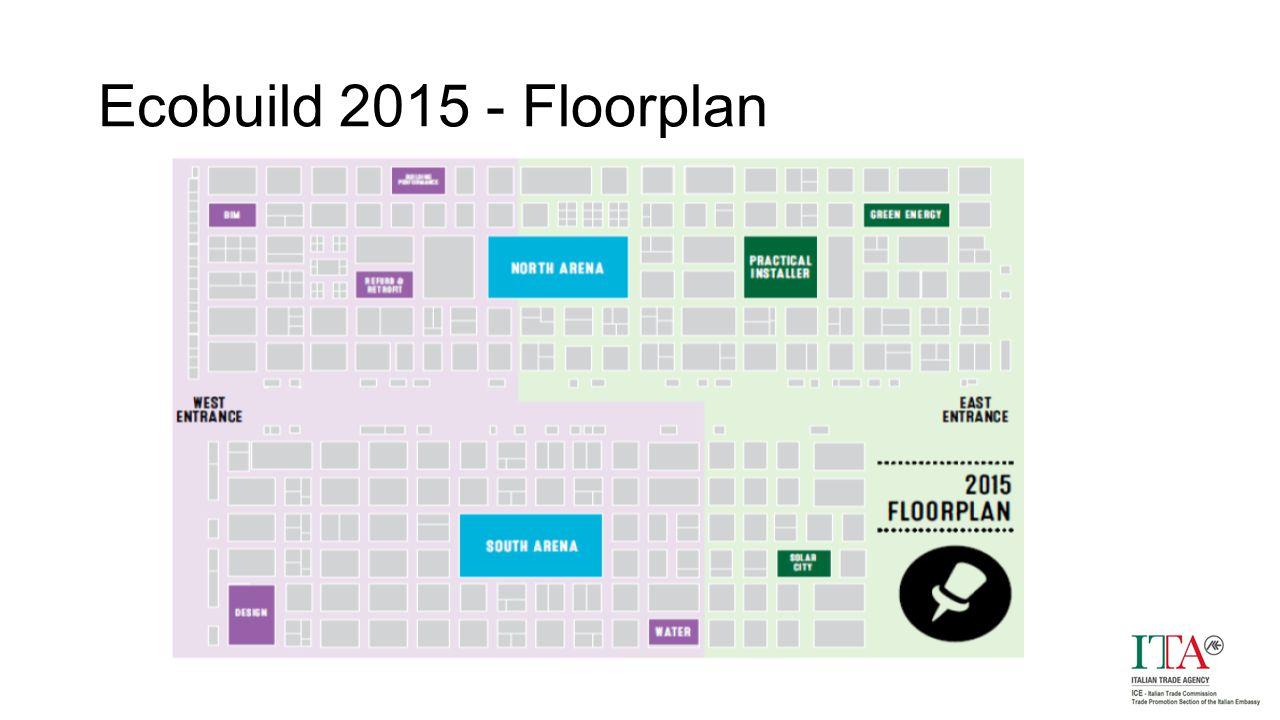 Ecobuild 2015 - Floorplan