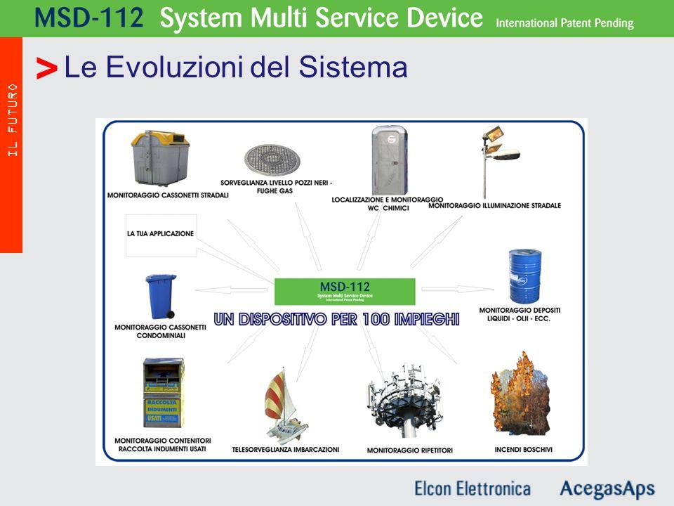 Le Evoluzioni del Sistema MSD - 112 IL FUTURO >