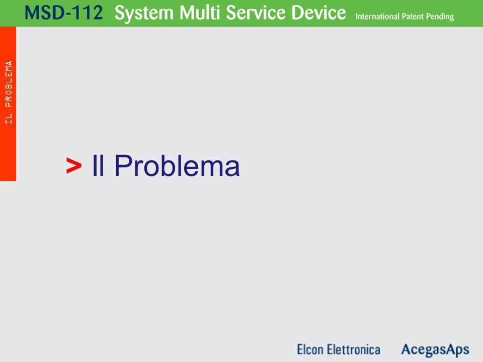 > Il Problema IL PROBLEMA