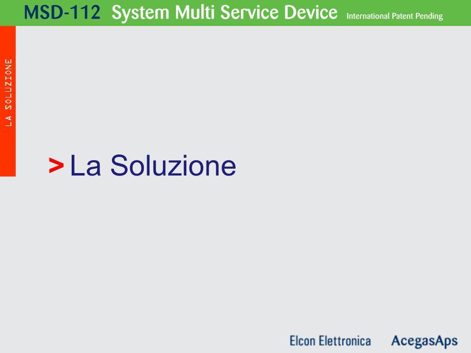 La Soluzione> MSD - 112 LA SOLUZIONE