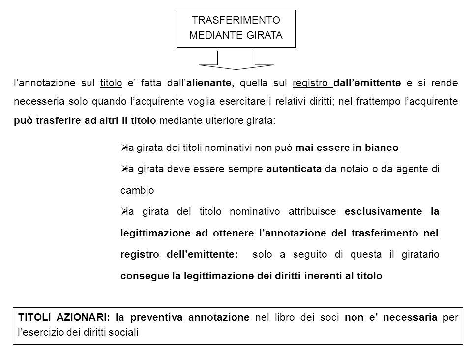 LA LEGGE CONSENTE DEI RIMEDI CHE PERMETTONO DI SVINCOLARE L'ESERCIZIO DEL DIRITTO DAL POSSESSO DEL TITOLO (PRINCIPIO DELL'INCORPORAZIONE DEL DIRITTO AL DOCUMENTO).