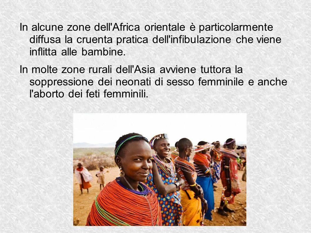 L Italia si trova al 69° posto per uguaglianza di genere (sondaggio fatto nel 2014 dal world economic forum)