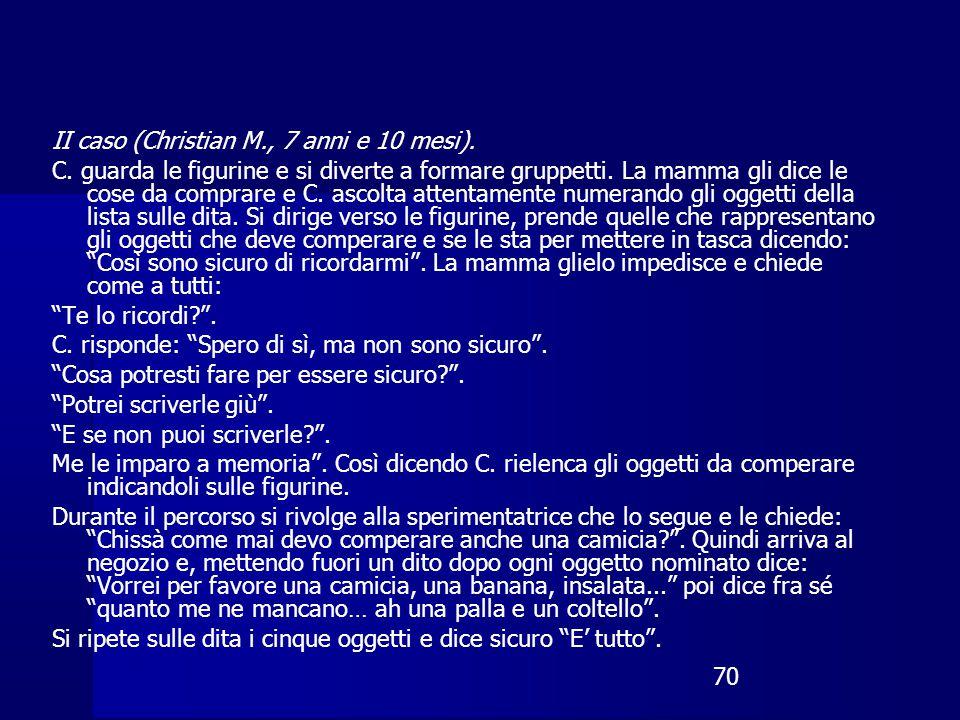 70 II caso (Christian M., 7 anni e 10 mesi).C.