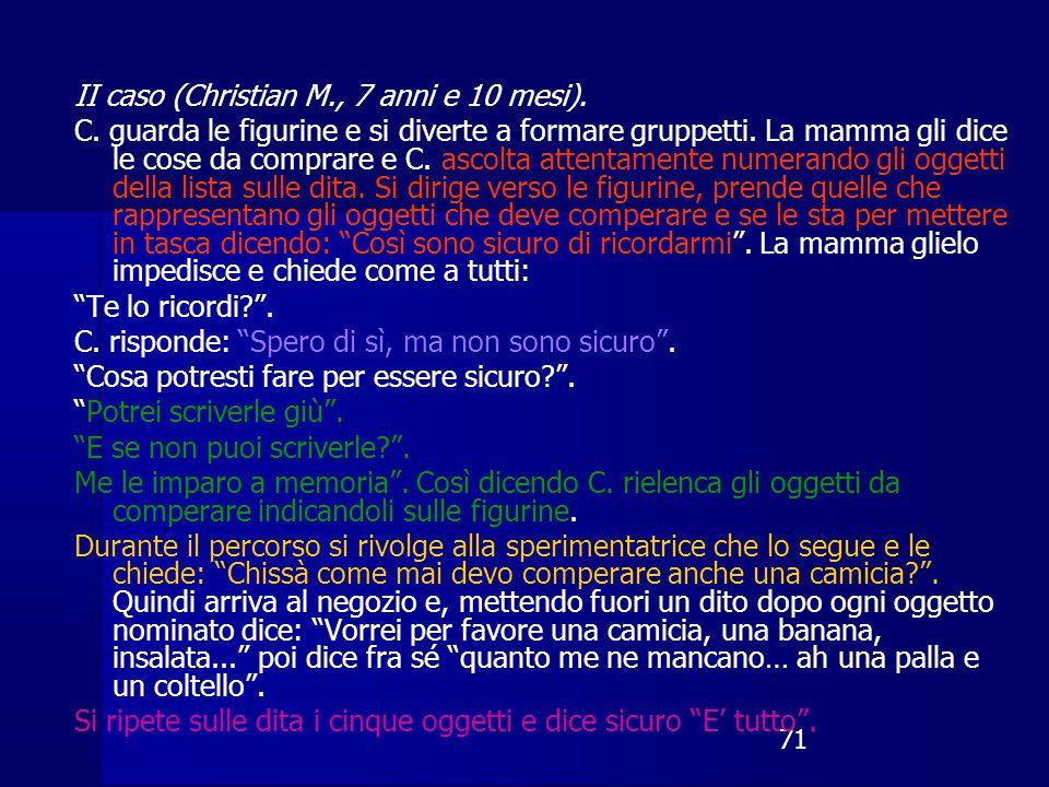 71 II caso (Christian M., 7 anni e 10 mesi).C.