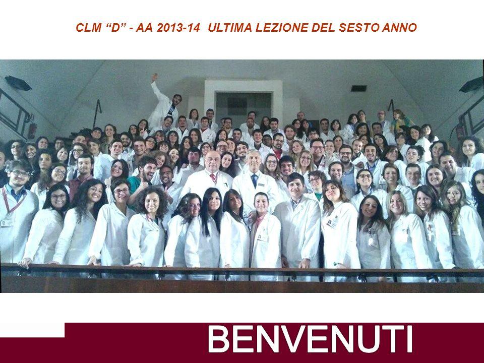 3 CLM D - AA 2013-14 ULTIMA LEZIONE DEL SESTO ANNO