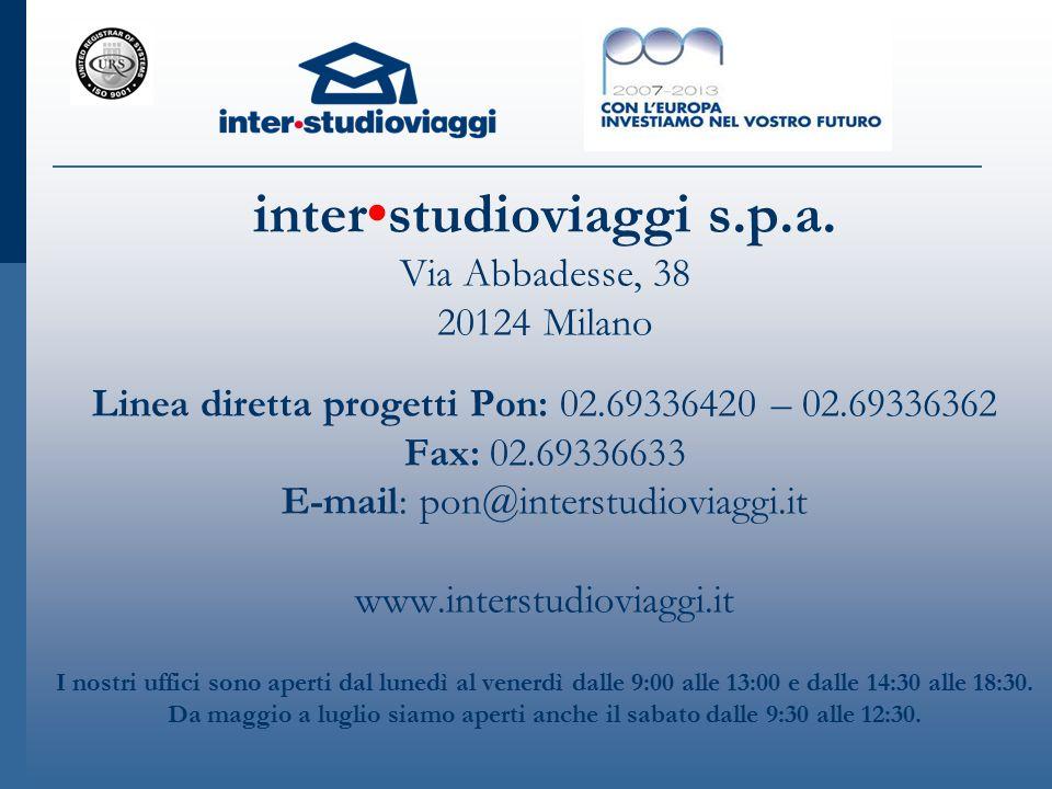 interstudioviaggi s.p.a.