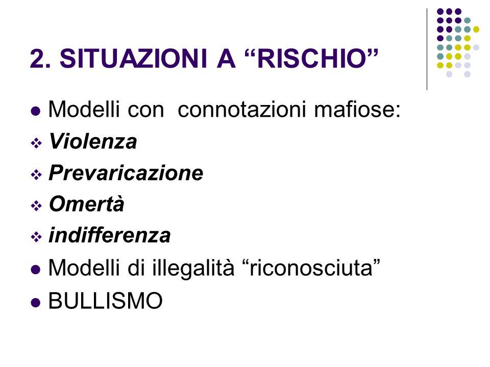 Strategia di carattere sistemico Il bullismo nasce da un disagio del gruppo.