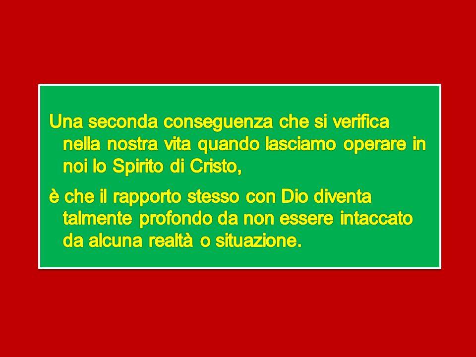 Questa è la vera libertà: poter realmente seguire il desiderio del bene, della vera gioia, della comunione con Dio e non essere oppresso dalle circost