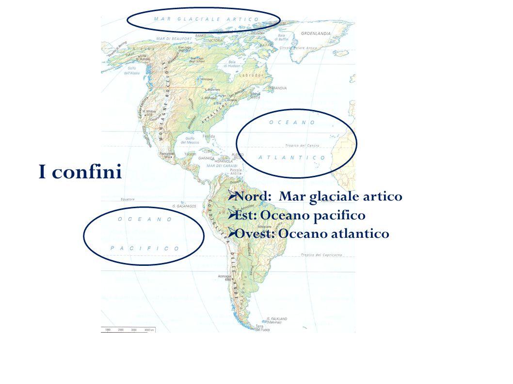 Coste e mari Le coste dell'America del Nord sono movimentate da ampi golfi  Baia di Hudson  Golfo d'Alaska  Golfo del Messico  Baia di Baffin I mari  Mare di Beaufort  Mare di Bering  Mar dei Caraibi Mare di Bering