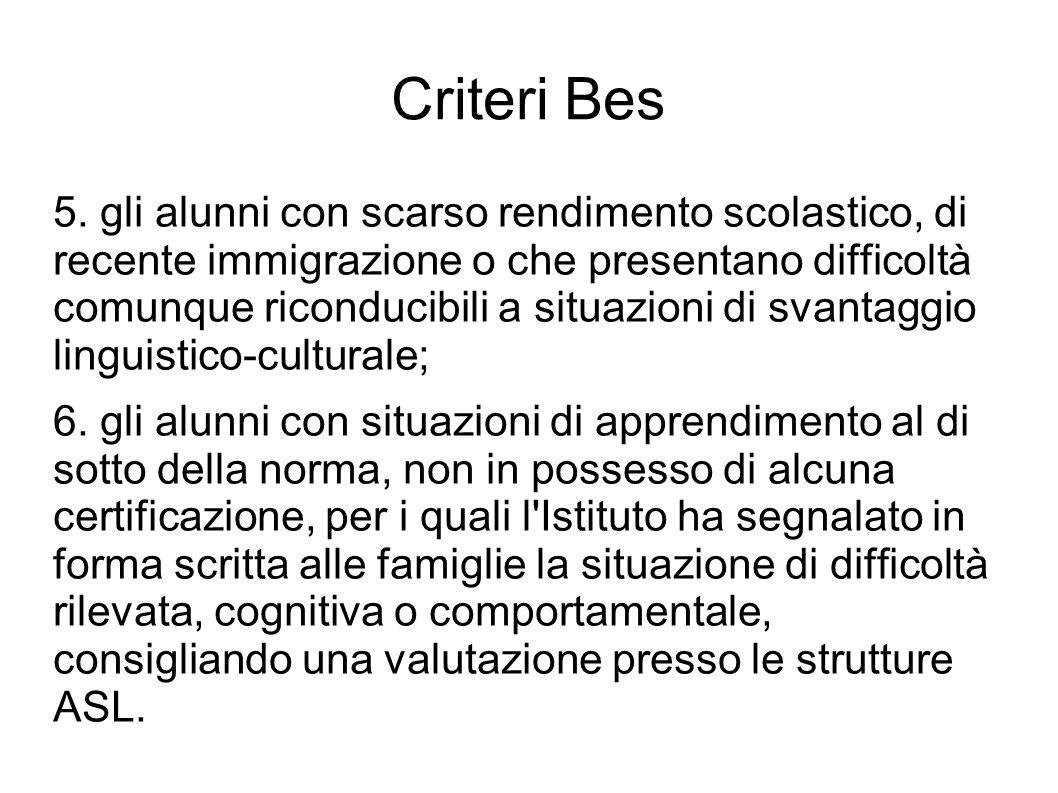 Criteri Bes 5.