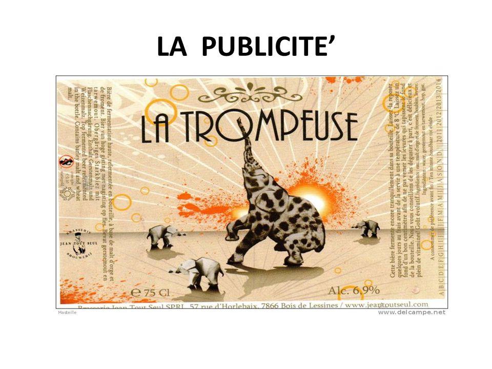 LA PUBLICITE'