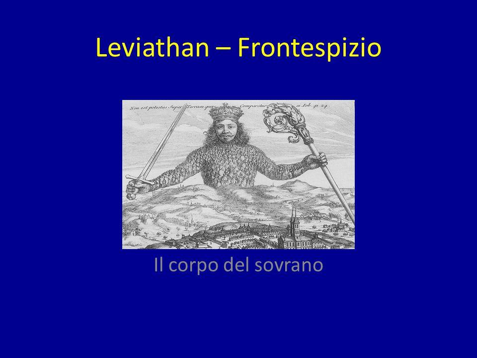 Leviathan – Frontespizio Il corpo del sovrano