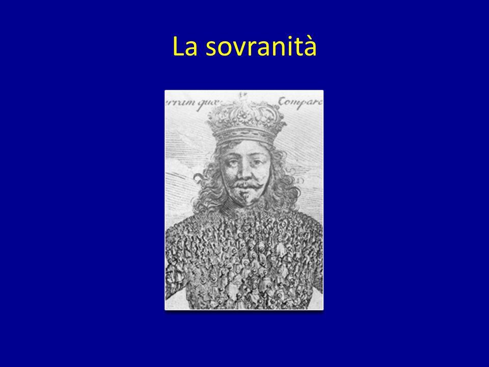 La sovranità