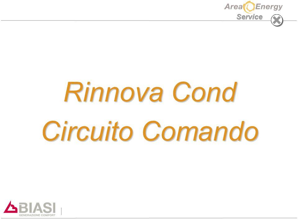 Service Rinnova Cond Circuito Comando