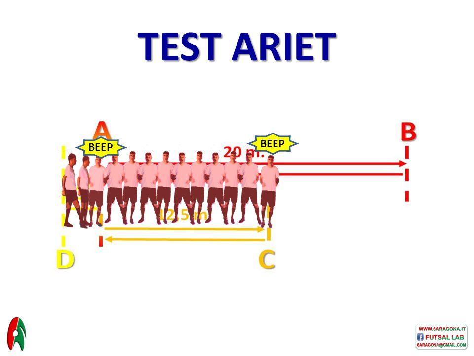 BEEP TEST ARIET