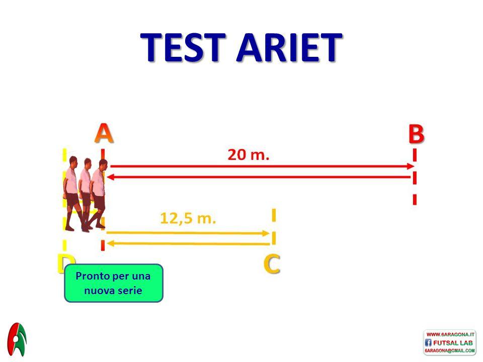 Pronto per una nuova serie TEST ARIET