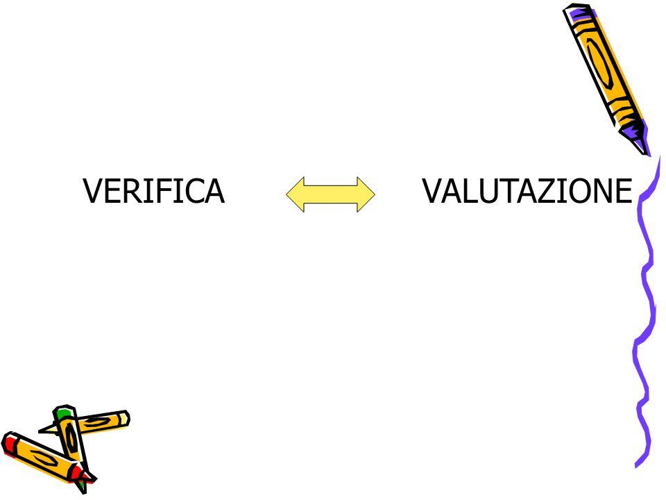 VERIFICA VALUTAZIONE
