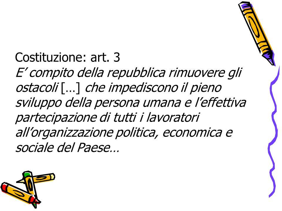 Costituzione: art.