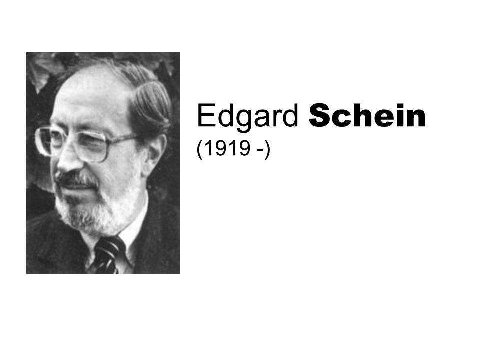 Edgard Schein (1919 -)
