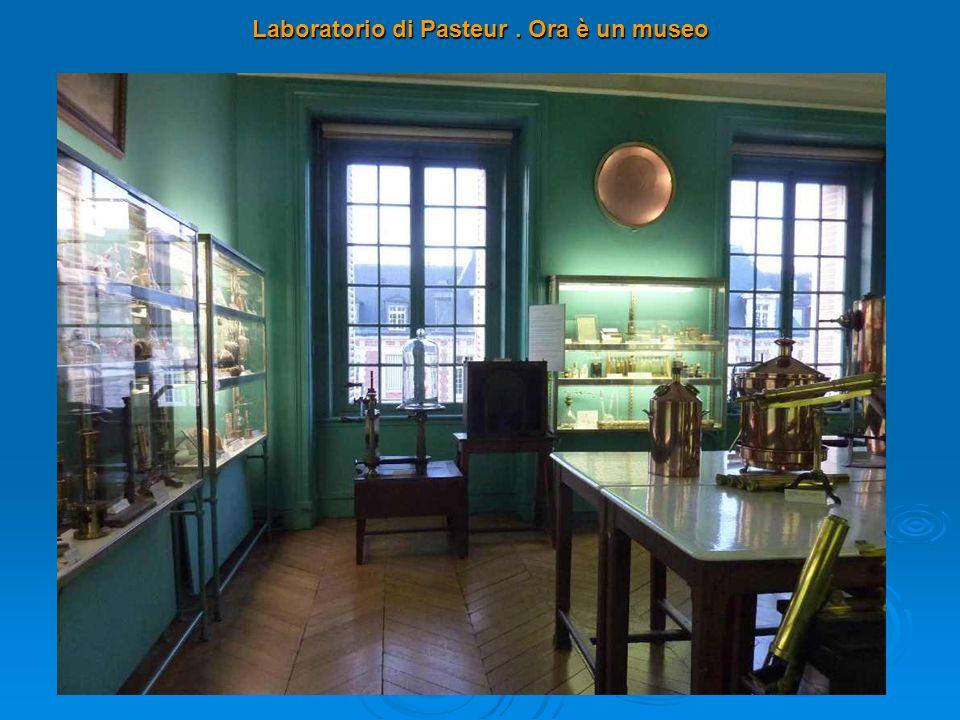Laboratorio di Pasteur. Ora è un museo
