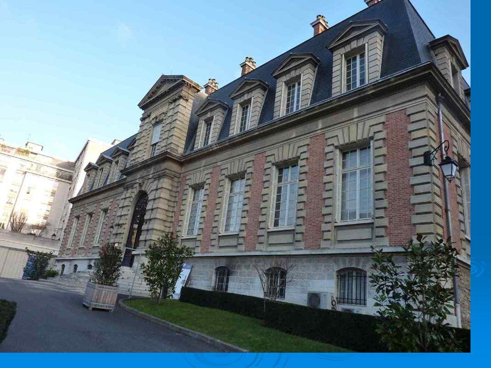 L'ingresso dell'appartamento di Pasteur.