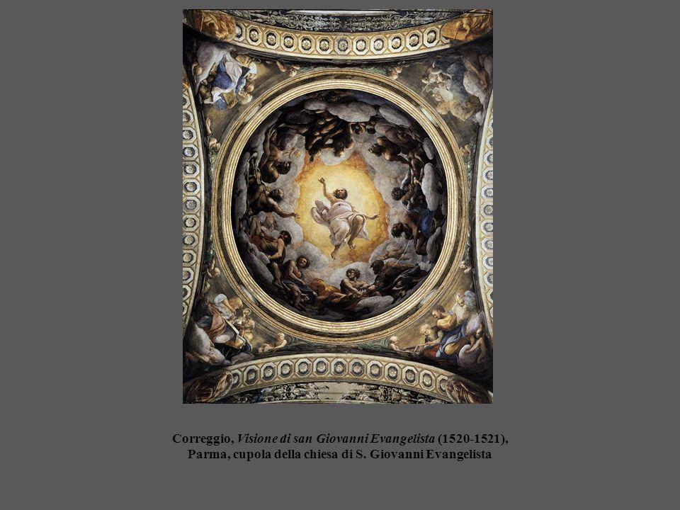 Correggio, Visione di san Giovanni Evangelista (1520-1521), Parma, cupola della chiesa di S. Giovanni Evangelista