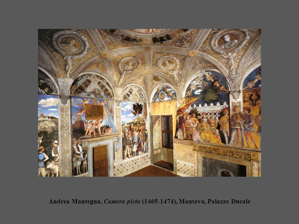 Andrea Mantegna, Camera picta (1465-1474), Mantova, Palazzo Ducale