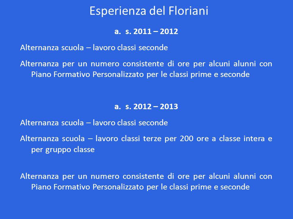 Esperienza del Floriani a.s.