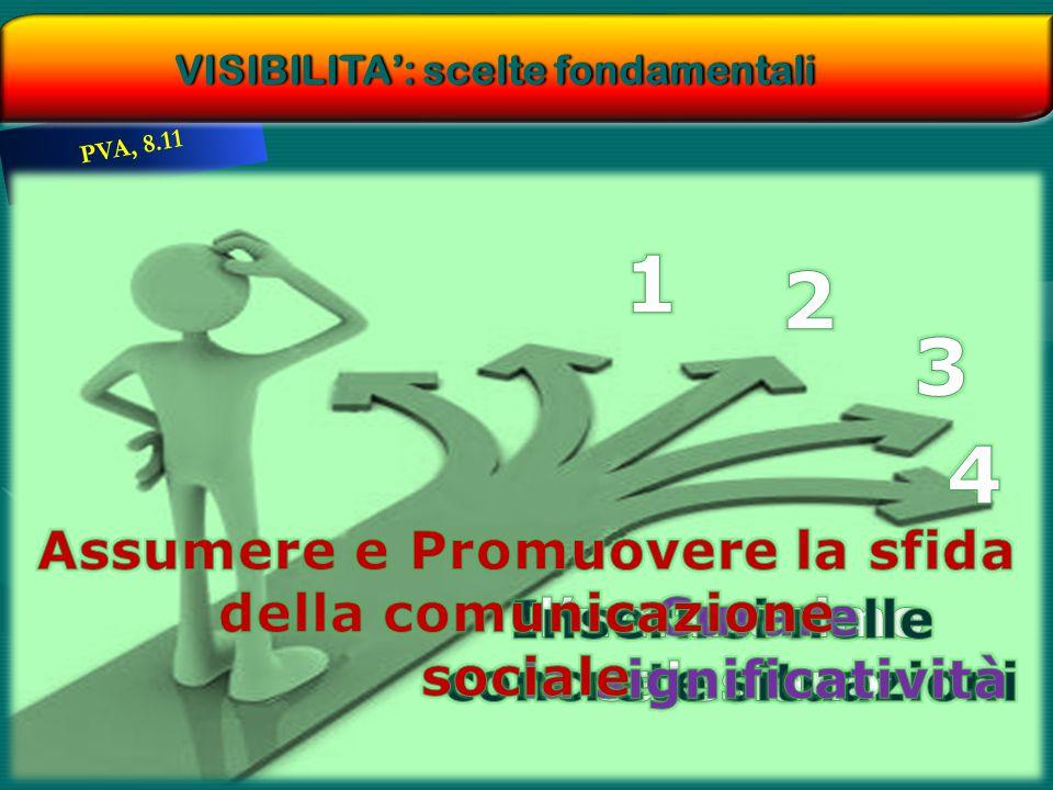 PVA, 8.11 VISIBILITA': scelte fondamentaliVISIBILITA': scelte fondamentali