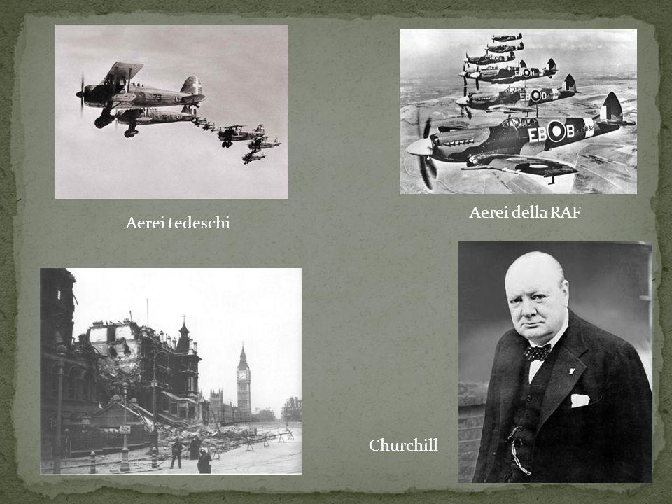 Aerei tedeschi Aerei della RAF Churchill