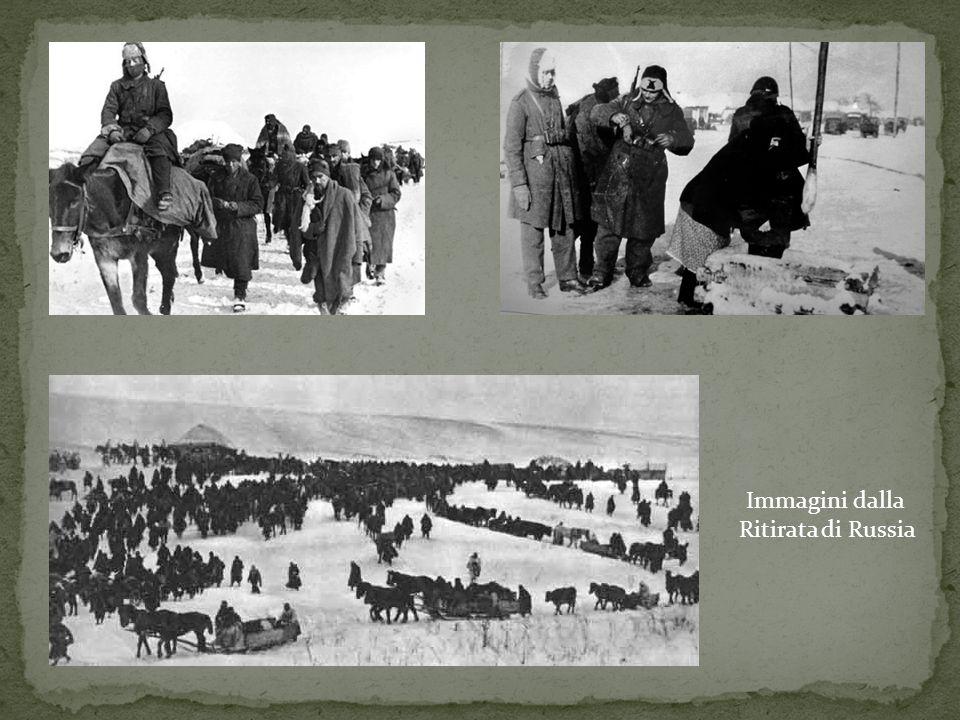 Immagini dalla Ritirata di Russia