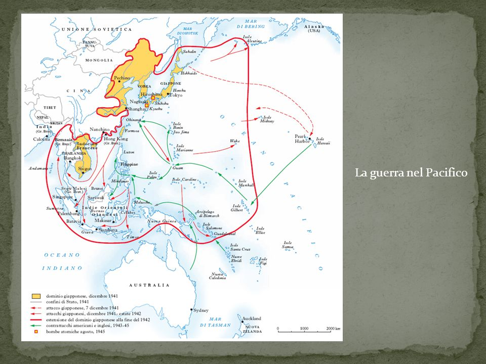 La guerra nel Pacifico