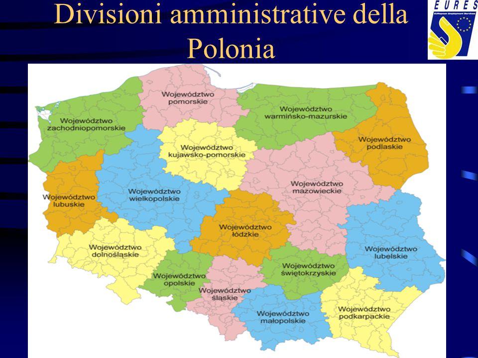 Divisioni amministrative della Polonia